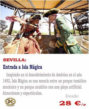 entradas de grupo a isla mágica Sevilla