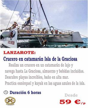 Crucero en Catamarán Lanzarote