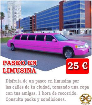 limusinas en Málaga