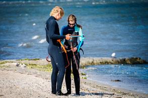 Kitesurfen lernen Kiteschule Kitesurfen Kiel
