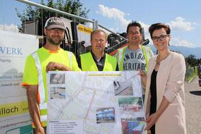 Wasserwerk Stadt Villach Wasserreferentin Katharina Spanring