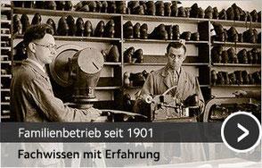 Familienbetrieb im Schuhmacherhandwerk