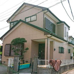 外壁色SR-169,屋根カバー工法▲