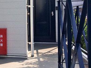 入居率を上げるアパート外壁塗装 千葉市 階段、手すり柵塗装