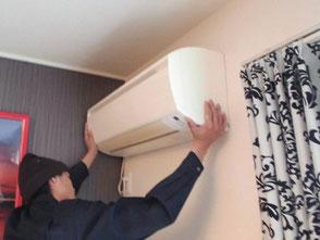入居率を上げるアパート外壁塗装千葉市エアコン交換工事