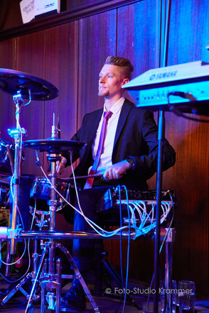 Partyband Bad Wörishofen - Tobias an den Drums