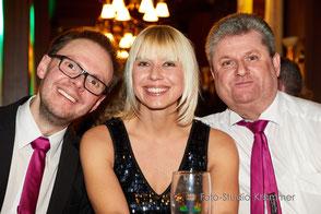 Hochzeitsband Ansbach - Bianca, Chris und Jürgen