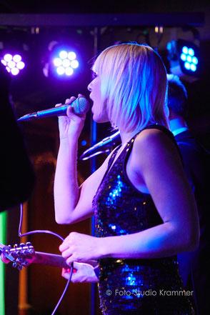 Gala Band in Finning - Sängerin Bianca