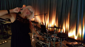 Bianca on Stage in Ursberg