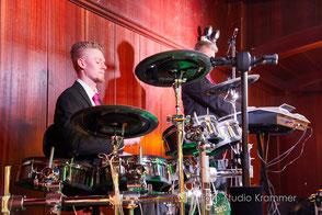 Hochzeitsband Aalen - Tobias Drums
