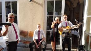 Hochzeitsband Ansbach - Musik für Sektempfang