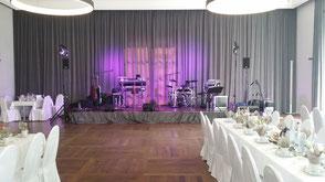 Hochzeitsband München - Bühne