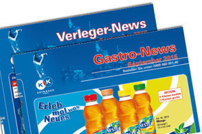 KK Getränke Rhein-Main. Monatliche Getränke-Angebote für Gastronomie und Getränkehandel
