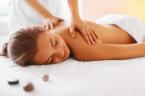 Ganzkörpermassage- Relaxmassage
