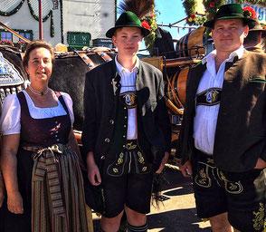 Familie Lechner, Berggasthof Hummelei in Oberaudorf