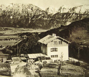 Geschichte vom Berggasthof Hummelei in Oberaudorf