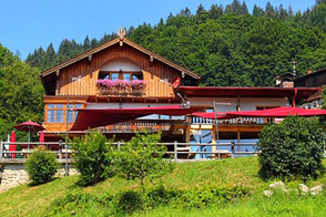 Urlaub in Oberaudorf bei Familie Lechner im Berggasthof Hummelei
