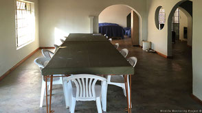 Accomodation diningroom