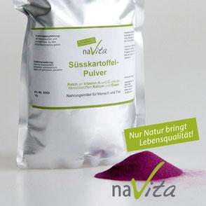 naVita Lila Süsskartoffelpulver