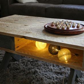 Table basse bois de palette Hautes-Pyrénées