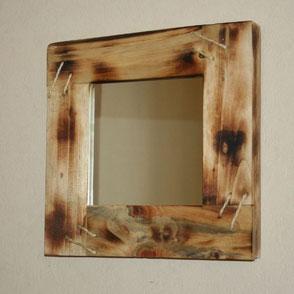 Miroir bois de palette Hautes-Pyrénées
