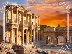 Celsus Bibliothek Ephesus Türkei