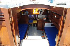 cabine du vieux gréement le grand bleu