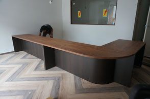 Store reception counter