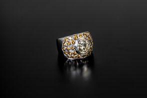 Gelbe Diamanten