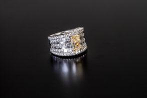 Gelber Diamant unbehandelt