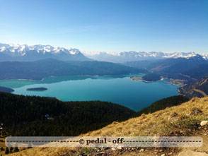 Wasser See Fluss fließend Natur Outdoor Naturfotographie sonnenspitz kochel am see kochelsee sonnenaufgang morgenrot bayrische alpen walchensee