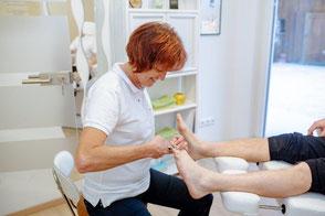 Fußpflege Speziell auch für Diabetiker.