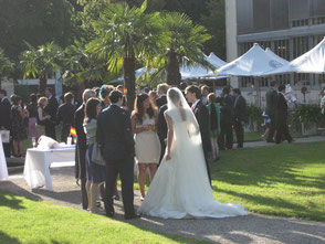 DJ München für Empfang zur Hochzeit