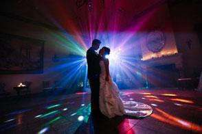 Hochzeit im Glanz und Gloria