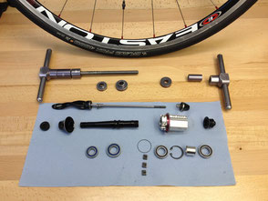 Easton hub service Stirling Bike Doctor