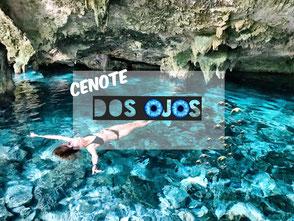 Imposante Cenote und Tauchertraum