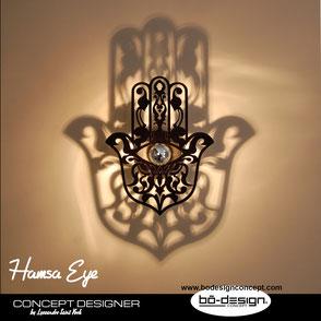 main de fatima,luminaire oriental,luminaire main de fatima,orientalische leuchte,hamsa leuchte,décoration orientale,luminaire marocain,applique murale orientale,applique murale,luminaire chambre,luminaire designer,déco murale main de fatima,maroc