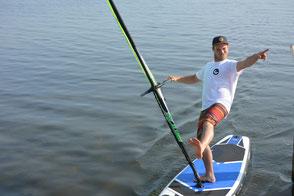 Windsurfen in deiner VDWS Surfschule