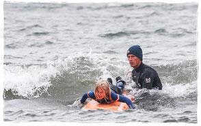 Wellenreitkurs Kühlungsborn