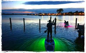 stand up paddling im salzhaff in rerik an der ostsee!