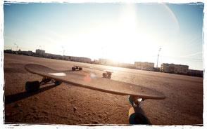 longboard fahren