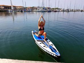 SUP Yoga an der Ostsee in Kühlungsborn