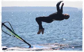 windsurfen in Rerik an der Ostsee