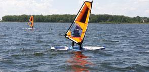 Windsurfen lernen in der Surfschule Rerik an der Ostsee