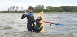 Kitesurfen Lernen- nutze das Wassersportangebot an der Ostsee
