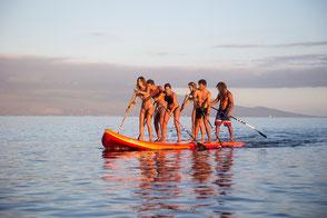 Stand Up Paddling Ostsee; Reserviere jetzt dein XXl SUP an der Ostsee in Rerik oder Kühlungsborn. Teambuilding und Ausflugstip Ostsee für Familie und Freunde!