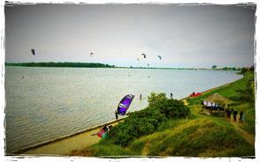 Kuhberg Kitespot in Rerik an der Ostsee- kitesurfen