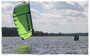 Kitesurfen lernen in der Kiteschule in Rerik an der Ostsee