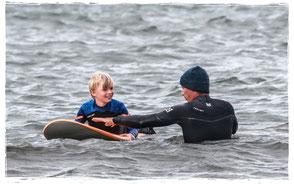 Wellenreiten lernen an der Ostsee in Kühlungsborn
