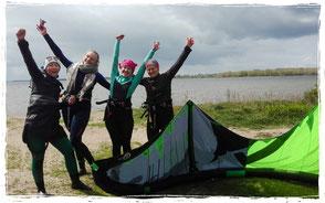 Kitesurfen lernen in Rerik am Salzhaff Ostsee